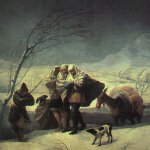Francisco de Goya (1746-1828)  Winter  Oil on canvas, 1786  Museo del Prado, Madrid, Spain